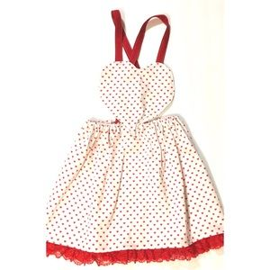 Other - Valentine's Day Sweetheart Pinafore Dress